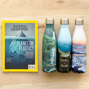 Free 1 Year Digital SubscriptionNational Geographic x S'well Bottle