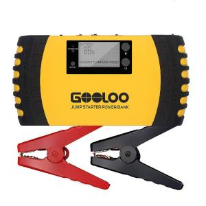 $93.99 (原价$119.99)GOOLOO 1000A Peak 20800mAh 便携式充电宝/汽车电瓶紧急启动电源