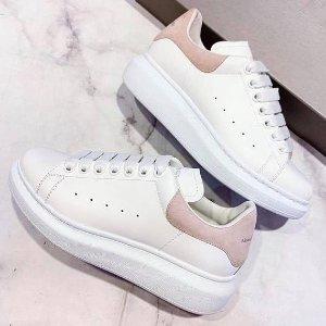 6折起+叠7折 €193收拼色小白鞋Alexander Mcqueen 麦昆加入大促 爆款粉尾、骑士靴都有