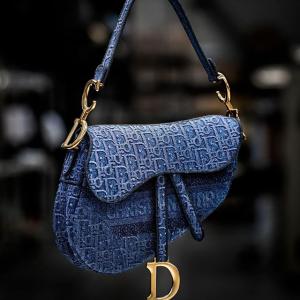 低至2.5折 老花马鞍包£313独家:Dior 经典高奢超低价 二手收高品质收大热马鞍包、经典book tote等