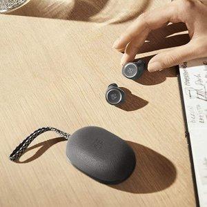优惠价€89.95收大象灰Bang & Olufsen E8 无线蓝牙耳机 超高颜值音质满分