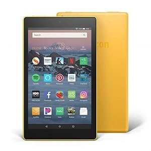 AmazonYellowKindle Fire HD 8 16GB Tablet