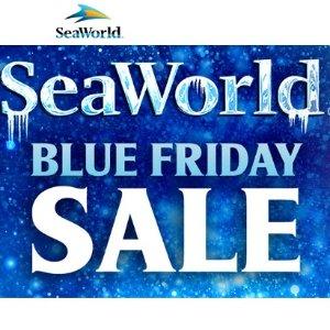 Buy One  Get One offersSEAWORLD SAN DIEGO BLUE FRIDAY SALE