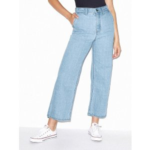 American ApparelCrop Wide Leg Jean | American Apparel