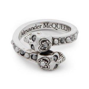 Alexander McQueen骷髅头戒指