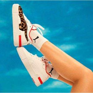 5折起 小白鞋折后仅€44Puma 季末闪促 快来get人手一双的厚底小白鞋