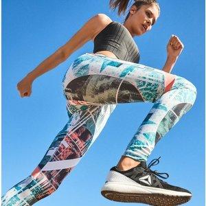 低至4.5折+包邮Reebok官网 Flexagon系列男女运动跑鞋促销