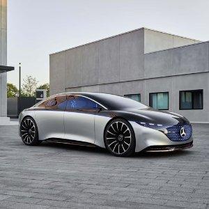 下一代奔驰长这样Mercedes-Benz Vision EQS 概念车亮相