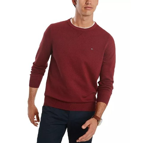 Charter Club Cashmere Slim-Fit Sweater New Red Amore PL  /_/_/_/_/_/_/_/_/_/_/_/_/_/_/_ B8F1