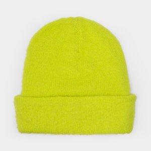 Acne StudiosPeele Beanie in Sharp Yellow Wool