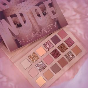 新人享9折 + 送KVD眼线笔补货:Huda Beauty New Nude粉色系眼影盘