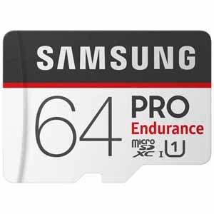 Samsung PRO UHS-1 Class10 64GB Endurance Micro SD Card