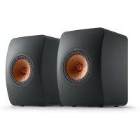 KEF LS50 Meta (Carbon Black) Bookshelf speakers at Crutchfield
