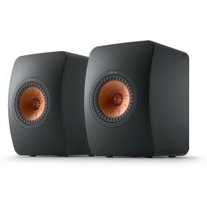 KEFKEF LS50 Meta (Carbon Black) Bookshelf speakers at Crutchfield