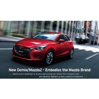 Mazda 2 Demio 折纸模型免费下载