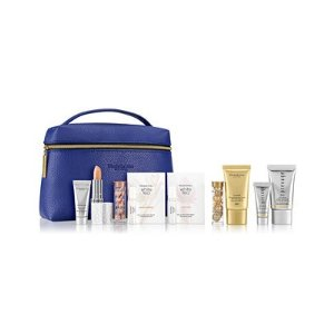Elizabeth ArdenChoose your Free 8-Pc. Gift with $37.50 Elizabeth Arden purchase (Up to a $104 Value!) Prevage® Anti-aging Daily Serum, 1.7 fl. oz. Ceramide Lift and Firm Day Cream Broad Spectrum Sunscreen SPF 30, 1.7 oz. SUPERSTART Skin Renewal Booster, 1 oz Advanced Ceramide Capsules Daily Youth Restoring Eye Serum, 60 pc.
