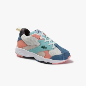 LacosteWomen's Storm 96 Textile and Suede Sneakers