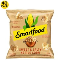 Smartfood 甜咸味爆米花 0.5 Ounce (Pack of 40)