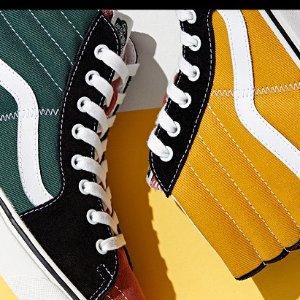 低至5折+额外9折VANS 潮鞋冬季热卖,经典滑板鞋仅$66