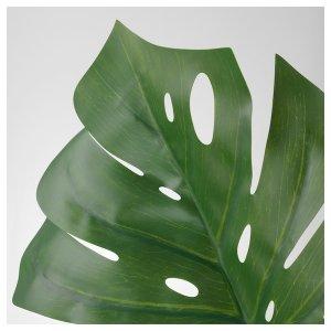 SMYCKA Artificial leaf - monstera, green - IKEA