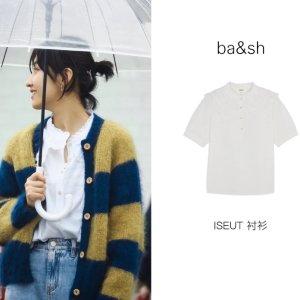 BA&SH张子枫同款,码全复古娃娃领衬衫