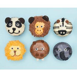 动物蛋糕 6个