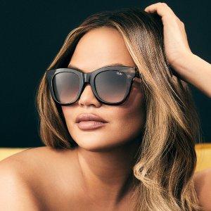 买1送1Quay 全场时尚墨镜、防蓝光眼镜促销