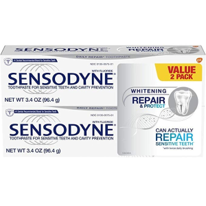 $9.78Sensodyne Repair and Protect Whitening Sensitivity Toothpaste