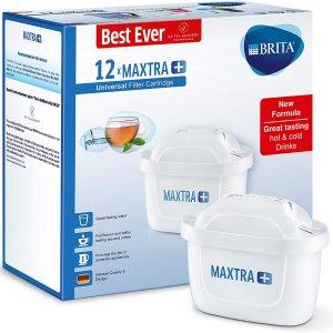 接近史低折扣升级:Brita Maxtra+ 滤芯12个装 一年饮水不用愁