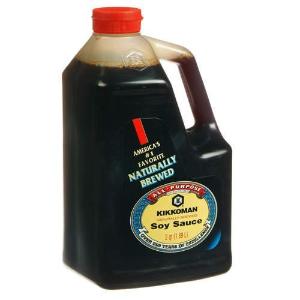 $7.07Kikkoman Soy Sauce, 64-Ounce Bottle (Pack of 1)