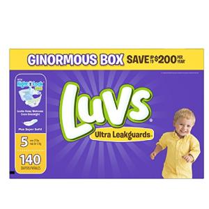 $18.46 Luvs Ultra Leakguards Newborn Diapers Size 1, 252 Count