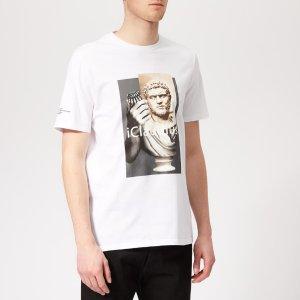 Neil BarrettMen's Iclaudius T-Shirt - White/Print