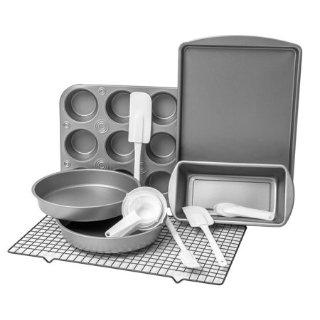 $19.99(原价$30.99)BakerEze 烘培专用烤盘套装 20件