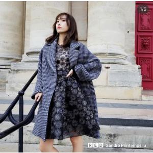 欧阳娜娜同款外套€125Maje官网4折起+送小狗包 封面同款格纹大衣€287.5