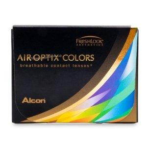 Air optix硅水凝胶 透氧率138彩色隐形眼镜 月抛2片