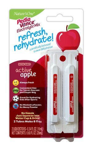 PediaVance 有机电解质便携装浓缩液,苹果味