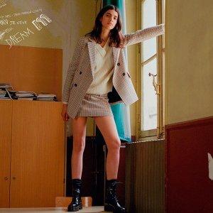低至4折! £134收欧阳娜娜同款即将截止:Maje 大衣外套年末大促 初春防寒必备