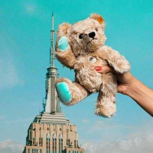 据说可以升值  £140就收Tiffany x Steiff 小熊惊喜上线 圣诞必备礼物 断货快 收藏必备
