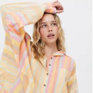 敲可爱云朵包$78上新:Urban Outfitters 每周上新 封面清新衬衣$59