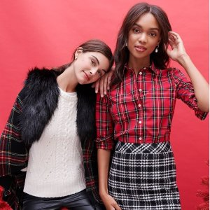 Up to 70% Off + Extra 50% Off ClearanceJ.Crew Factory Women's Clothing on Sale