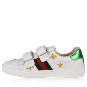Gucci大童款小白鞋