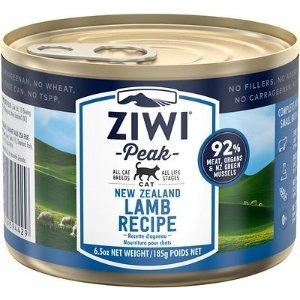 ZiwiPeak羊肉味猫湿粮罐头 6.5oz 12罐