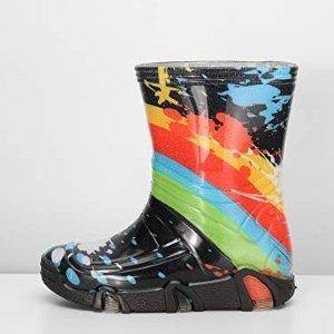 低至7.5折 €13.99就收儿童款Ladeheid 橡胶雨靴 防滑防水 最近德国多暴雨 可以做好防护准备