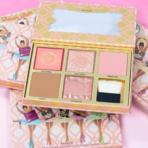 $58 + BADgal BANG Mascara & Makeup Bag on orders $70+Limited Edition Blush Bar Cheek Palette ($145 value) @ Benefit Cosmetics