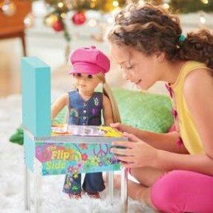 $127包邮(原价$150)American Girl Julie 的弹珠游戏机特价 宅家嗨起来