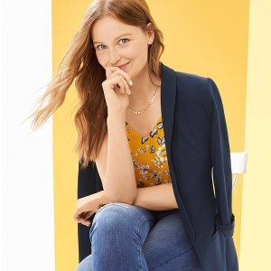 Buy 1 Get 1 FreeLOFT Outlet Top Sweater on Sale