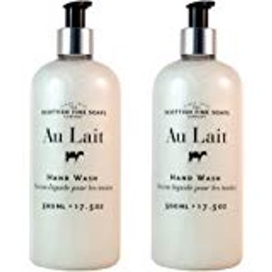 Amazon.com : Scottish Fine Soaps Au Lait Liquid Hand Wash - XLARGE (500ml/17.5 oz) : Beauty