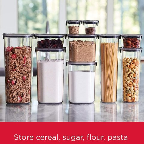 Rubbermaid Brilliance Food Storage Containers Set of 10