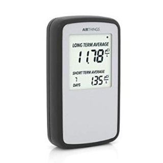 $125Corentium Home Radon Detector by Airthings 223 Portable, Lightweight, USA Version, pCi/L