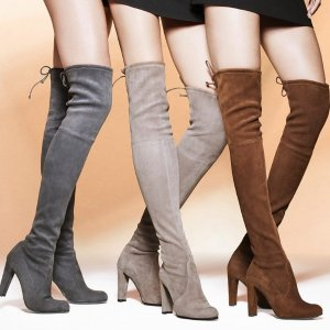 7折+免税Stuart Weitzman 新款美鞋热销 显腿过膝靴